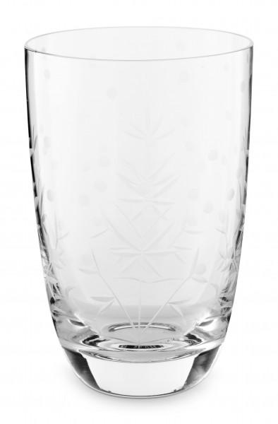 PIP Longdrink Glas Etching 400ml