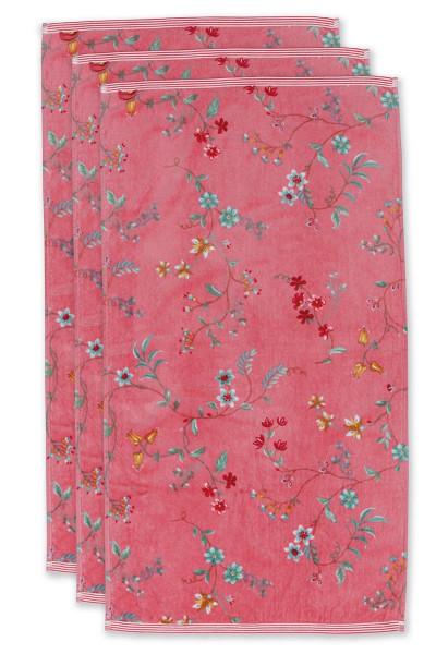 PIP Handtuch Les Fleurs pink 55x100cm
