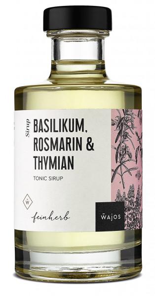 Basilikum Rosmarin & Thymian Sirup