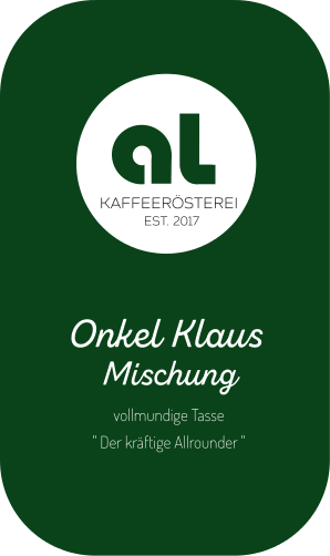 Oknkel Klazs 250gr Kaffeebohnen