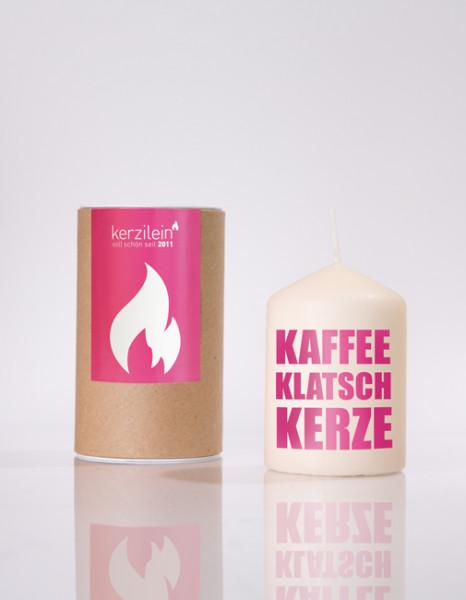 kerzilein...kaffeklatsch kerze