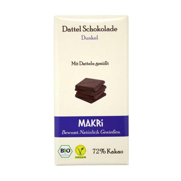 MAKRI Dunkle Dattel Schokolade