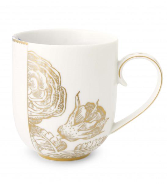 PIP Royal White Kaffeebecher groß 325 ml