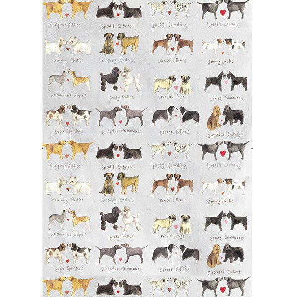Geschirrtuch Delightful Dogs