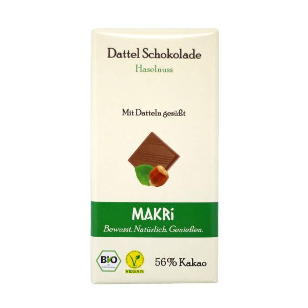 MAKRI Haselnuss Schokolade - Dattelschokolade