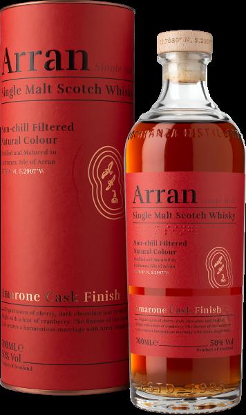 The Arran Single Malt Scotch Amarone finish