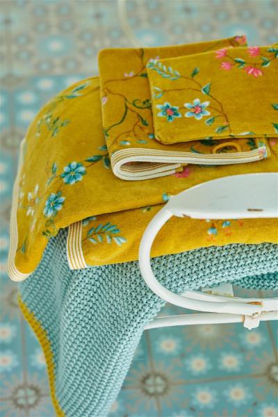 PIP Handtuch Les Fleurs yellow 55x100cm