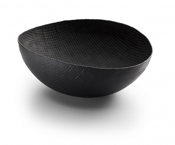 OUTBACK Schale oval schwarz
