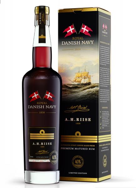 Riise Royal Danish Navy Rum 40%
