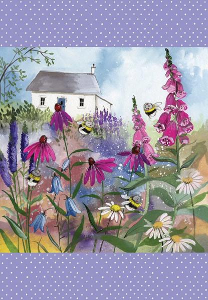 Geschirrtuch Bee Garden