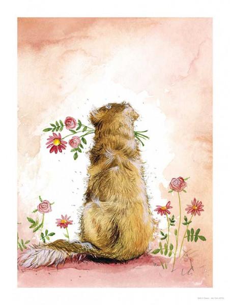 Alex Clark Bild Goldie & Flowers