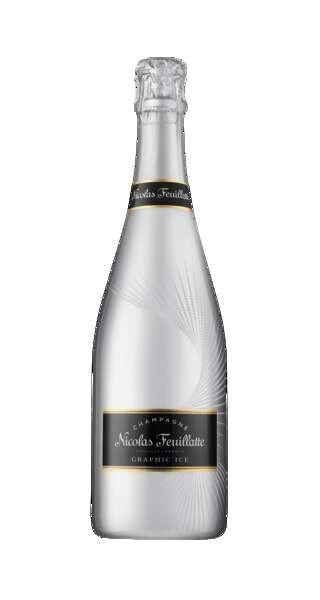 Nicolas Feuillatte Champagner Graphic Ice Silver